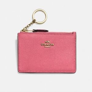 COACH 🌸 SKINNY MINI ID COIN POUCH